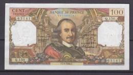 FRANCE. BILLET. MONNAIE. 100 FRANCS. CORNEILLE. - 100 F 1964-1979 ''Corneille''