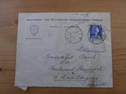 Enveloppe à Entête + Cachet Eclaireurs Unionistes De France Scouts De France Province Du Bas Languedoc - Padvinderij