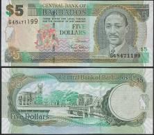 Barbados P 67 - 5 Dollars 1.5.2007 - UNC - Barbados
