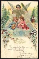 AK      ANGEL   ENGEL    Litho  Embossed   1902 - Anges