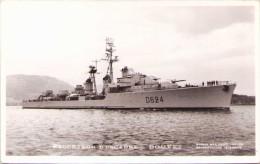 """Escorteur D´Escadre """"Bouvet"""" - Carte-photo - Warships"""