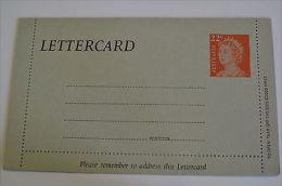 Australia Lettercard Queen Elizabeth II Prestamped Hampton Victoria Sender Adres - Poststempel