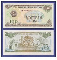 Vietnam Viet Nam UNC 100 Dong Banknote 1991 - P#105a - Vietnam