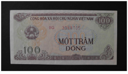 Vietnam Viet Nam UNC 100 Dong Banknote 1991 - P#105 - Big Serial Number - Vietnam