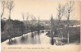 89. ARCY-SUR-CURE. La Cure, Vue Prise Du Pont. 71 - Francia