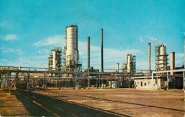 Oil Refinery Amuay, Venezuela Postcard Used Posted To UK - Venezuela