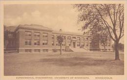 Minnesota Minneapolis Experimental Engineering University of Min