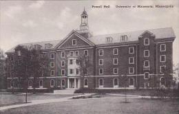 Minnesota Minneapolis Powell Hall University Of Minnesota Albert