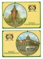 "SOUTH AFRICA - 5 Postcards Of The Theme - Johannesburg 100 - "" Early Johannesburg"" - Unused - Afrique Du Sud"