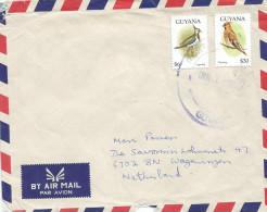 Guyana 1998 Rose Hill Lapwing Waxwing Bird Cover - Guyana (1966-...)
