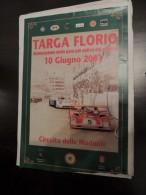 X MEMORABILIA SPORTS AUTO MANIFESTO ORIGINALE 70x100 TARGA FLORIO RALLY RIEVOCAZIONE 2001 - Automobile - F1