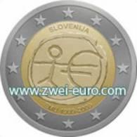 2 Euro Commémorative 10 Jaar EMU Slovenie / 10 Ans EMU Slovénie - Slovénie