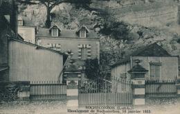ROCHECORBON - Eboulement De Rochecorbon , 16 Janvier 1933 - Rochecorbon