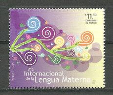 MEXIQUE.Día Internacional De La Lengua Materna, Défense Des Langues Indigènes,un T-p Neuf **,  Année 2013 - Languages