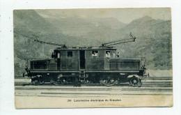 Italie.Locomotive électrique Du Simplon. - Unclassified