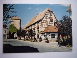 Dambach La Ville ( 67 ) Maison Fleurie - Dambach-la-ville