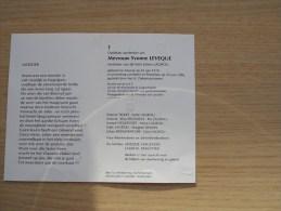 Doodsprentje Yvonne Leveque Veurne 25/6/1918 Roeselare 23/6/1996 ( Julien Lagrou ) - Religion & Esotericism