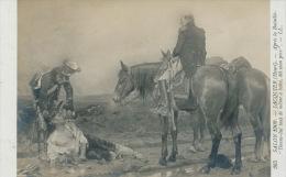 """MILITARIA - GUERRE - TABLEAUX - SALON 1909 - Après La Bataille """"Donne Lui Tout De Même à Boire,dit Mon Père """" - JACQUIER - Andere Kriege"""
