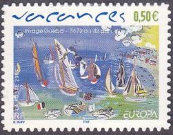 CEPT / Europa 2004 France N° 3672 Ou Adhésif 42 ** Vacances - 2004
