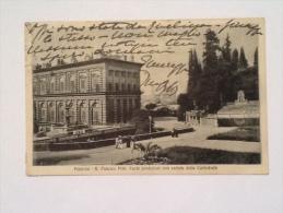 FIRENZE R. PALAZZO PITTI PARTE POSTERIORE E VEDEUTA DELLA CATTEDRALE F.P. --23-- - Firenze