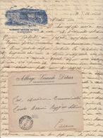 """Cover Lettera """"Albergo Grande Detrax-Salsomaggiore""""-Affr.Leoni -- Viaggiata-Italy Italia - 1900-44 Victor Emmanuel III"""