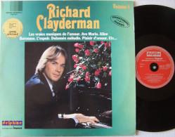 Richard CLAYDERMAN CHRISTOPHE LP Label Delphine Vol 2 Aline EX / MINT - Instrumental
