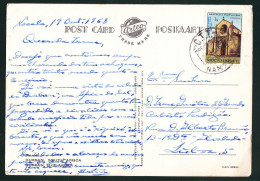 DURBAN SOUTH AFRICA - POSTED MOZAMBIQUE STAMP 1968 ( 2 SCANS ) - South Africa