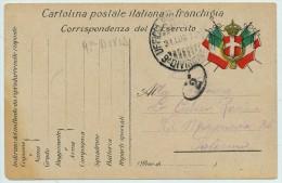 1916 POSTA MILITARE 9' DIVISIONE ZONA DI GUERRA - 1900-44 Vittorio Emanuele III