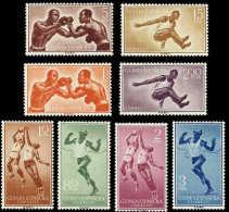 Guinea 376/83 ** Deportes 1958 - Guinea Espagnole