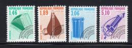 FRANCE- Préoblitérés N°206 à 209- Neufs Sans Charnière ** - Preobliterati