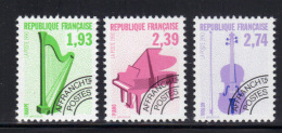 FRANCE- Préoblitérés N°210 à 212- Neufs Sans Charnière ** - Voorafgestempeld