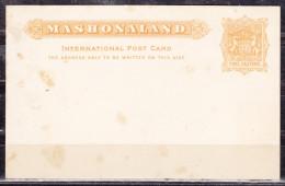 Britische Suedafrika-Gesellschaft, Ganzsache Ascher P 6 Wappen, Ungebraucht (49833) - Andere