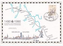 CARTE SOUVENIR--HERDENKINGSKAART 2350 HK COTE 12,50€ - Belgique