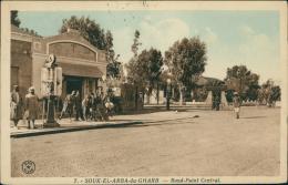 MAROC  SOUK EL ARBA  / Souk-el-Arba-du-Gharb, Rond-Point Central / CARTE COULEUR - Autres