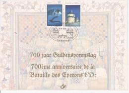 CARTE SOUVENIR--HERDENKINGSKAAR T  3088HK COTE    8,55€ - Belgique