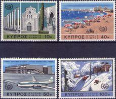 CIPRO REPUBBLICA 1967 - TURISMO - SERIE COMPLETA NUOVA** MNH - PERFETTA - Nuovi