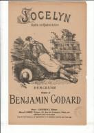 E. BUVAL BENJAMIN GODARD JOCELYN MARCEL LABBE  ** ANCIEN PARTITION ** VINTAGE MUSIC SHEET ** OUDE PARTITUUR - Partitions Musicales Anciennes