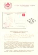 SMOM 1995 BOLLETTINO UFFICIALE -  CARTOLINA POSTALE CENTENARIO RADIO - Sovrano Militare Ordine Di Malta
