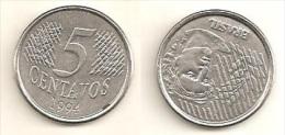 Brazil  5 Centavos 1994 - Brazil
