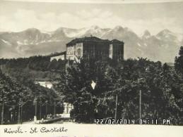 RIVOLI  -IL CASTELLO 1935 - Rivoli