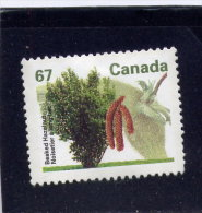 CANADA, 1992, USED # 1368, FRUIT TREE DEFINITIVES:BAKED  HAZELNUT   USED - 1952-.... Règne D'Elizabeth II