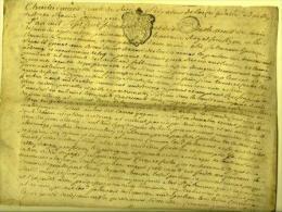 Acte De Vente  1770 Bourg-en-Bresse  Charles Marie - Manuscrits