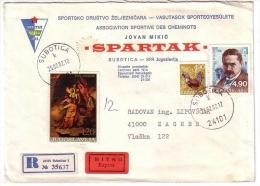 Old Letter - Yugoslavia, Subotica - Jugoslawien