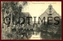 CALONNE-SUR-LA-LYS - LA BARRAGE DU MOULIN - 1910 PC - Bethune