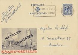 PUBLIBEL 1061°: (METALEN, SANITAIRS L. CALUWAERTS & C°) :  BADKAMER,SALLE De BAINS,BATHROOM, - Publibels
