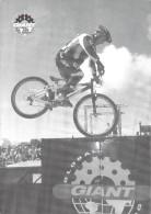 "SPORTS Cyclisme, Vtt V.T.T, Martin HAWYES /Trials  ""GIANT ""  (vélo Cycle Bicycle) *PRIX FIXE - Cycling"