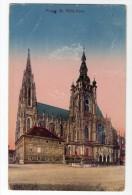 Czech Republic Praga Praha St Vits  Vintage Original Postcard  Ca1900 Cpa Ak (W3_3124) - República Checa