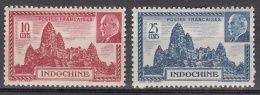 Indo China   Scott No. 209-9a   Mnh   Year  1941 - Otros - Asia