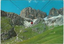 "1968, Trento - "" Passo Pordoi M.2234 Funivia Del Sass - Pordoi Piz Boè M.3150."" - Trento"