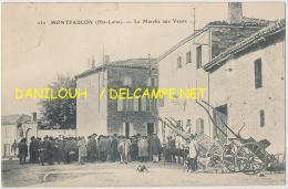 43 // MONTFAUCON    Le Marché Aux Veaux   252  ** - Montfaucon En Velay